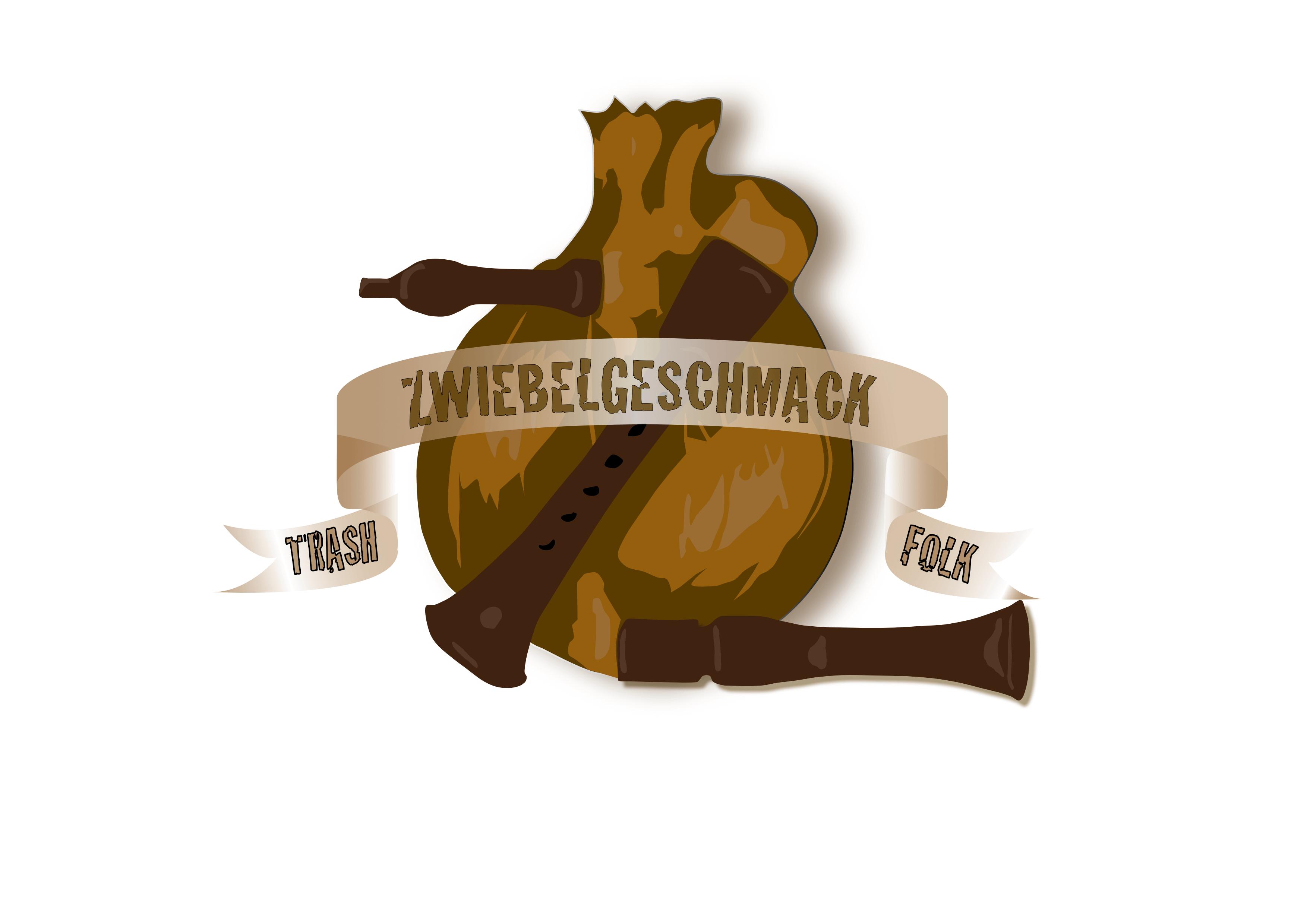 Zwiebelgeschmack Logo Dudelsack Mittelalterband